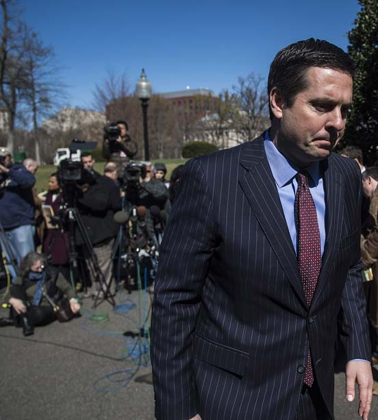 Devin Nunes explains what he did at the White House