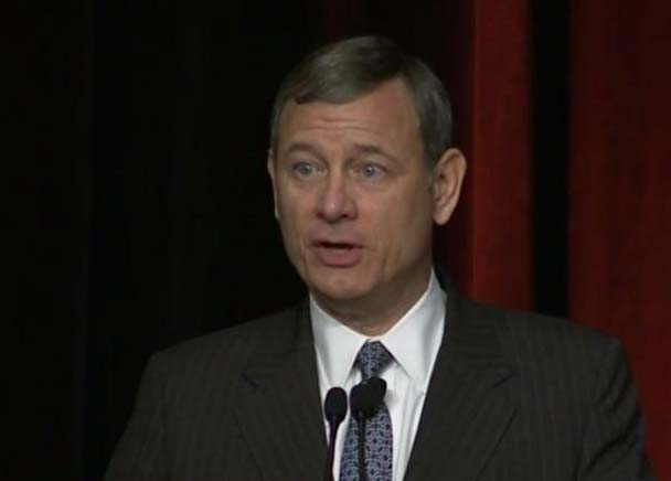 Chief Justice Roberts gets personal with a special audience