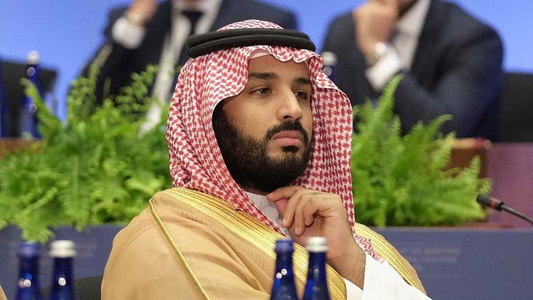 Jews have a right to their 'own land,' Saudi crown prince says as charm offensive continues
