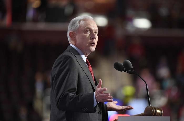 The very bad reason Jeff Sessions is 'very unhappy'