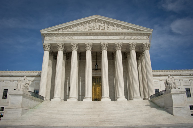 Will the Supreme Court fall into a political thicket?