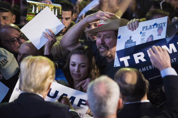 Trump voters finally had enough, and they voted