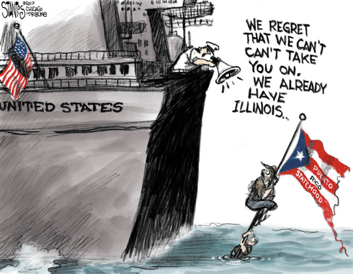 Sinking feeling in Puerto Rico