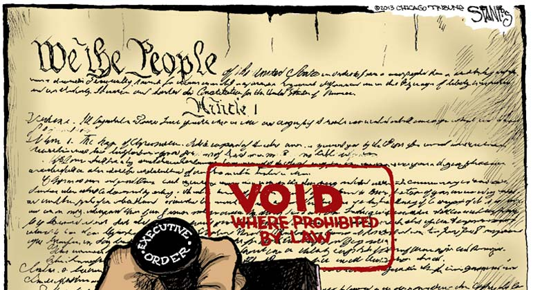 The Constitution isn't a restaurant menu: The lawless obstructionism of Beltway elites
