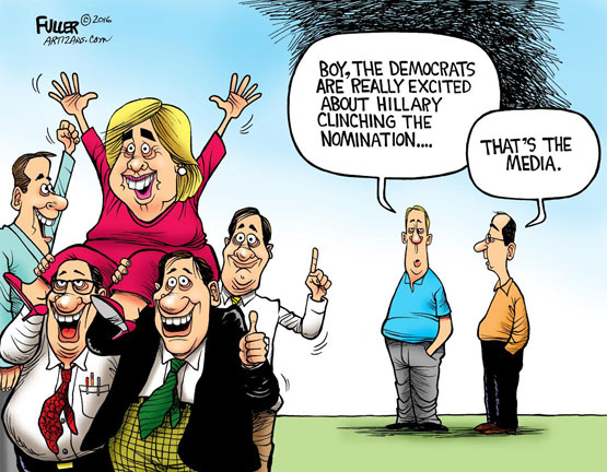 The coming media settlement with Hillary