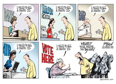 Voter ID Myth Crashes