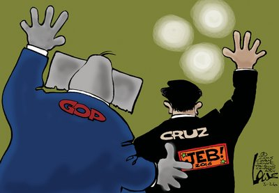 Cruz is aiming at the wrong Republicans